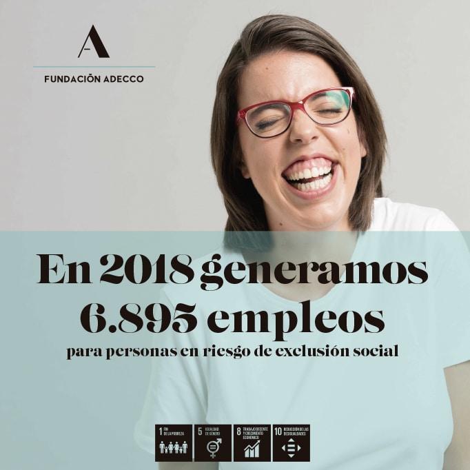 Memoria Fundación Adecco año 2018