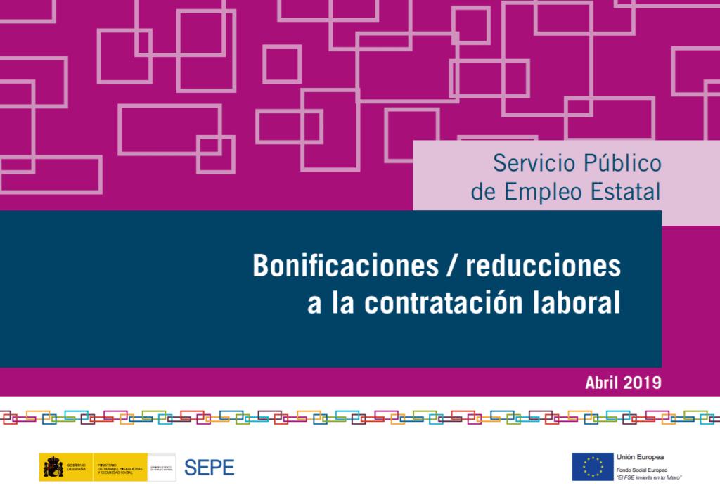 Bonificaciones / Reducciones a la contratación laboral
