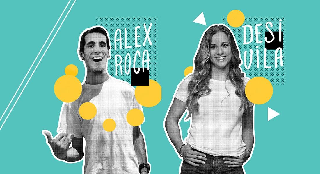 Alex Roca, atleta con parálisis cerebral y Desirée vila, atleta paralímpica, te invitan a participar en la carrera de las capacidades