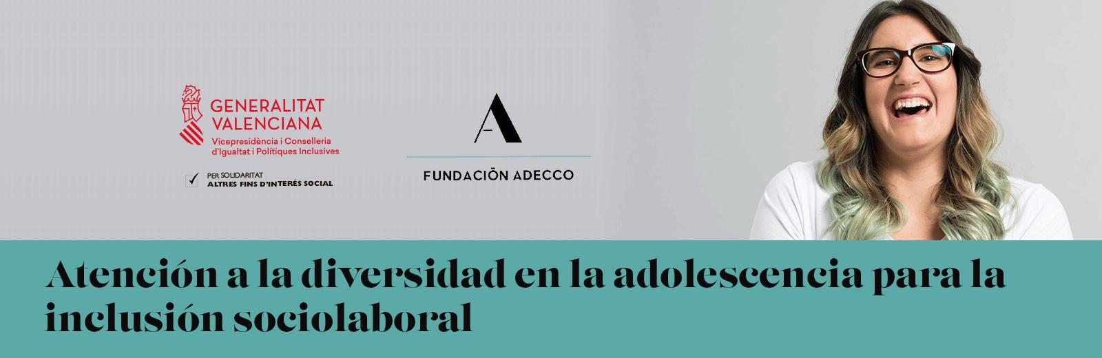 Programa de empleo atención a la diversidad en la adolescencia para su futura inclusión sociolaboral.