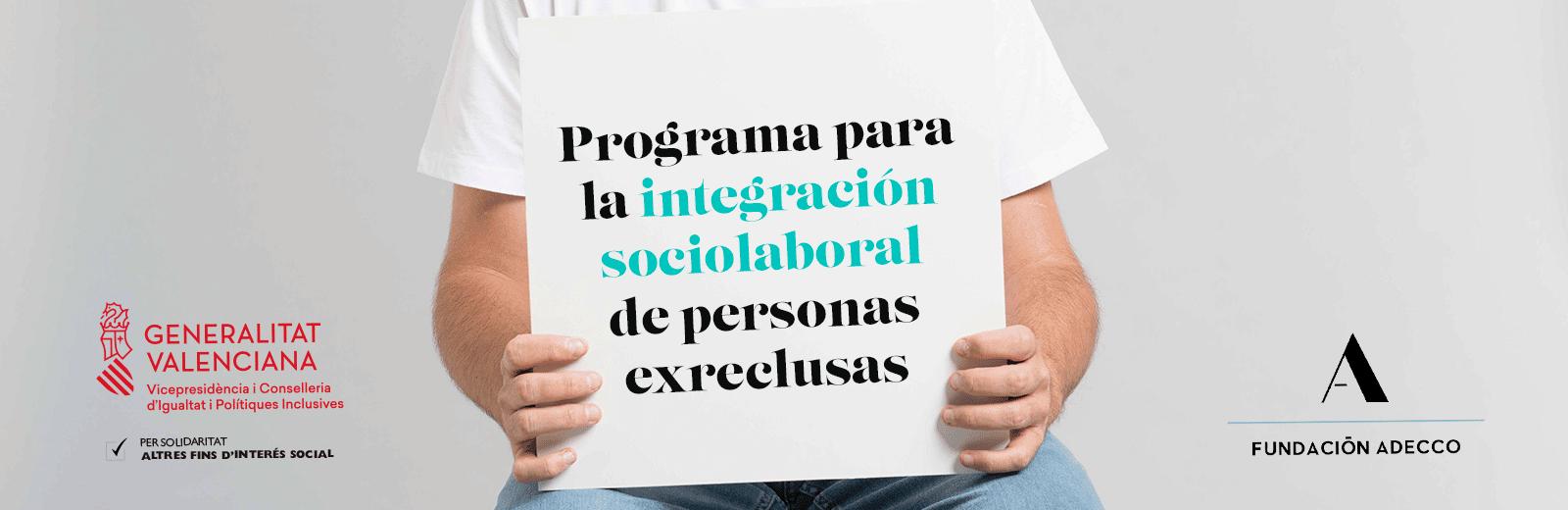 programa integración laboral personas exreclusas