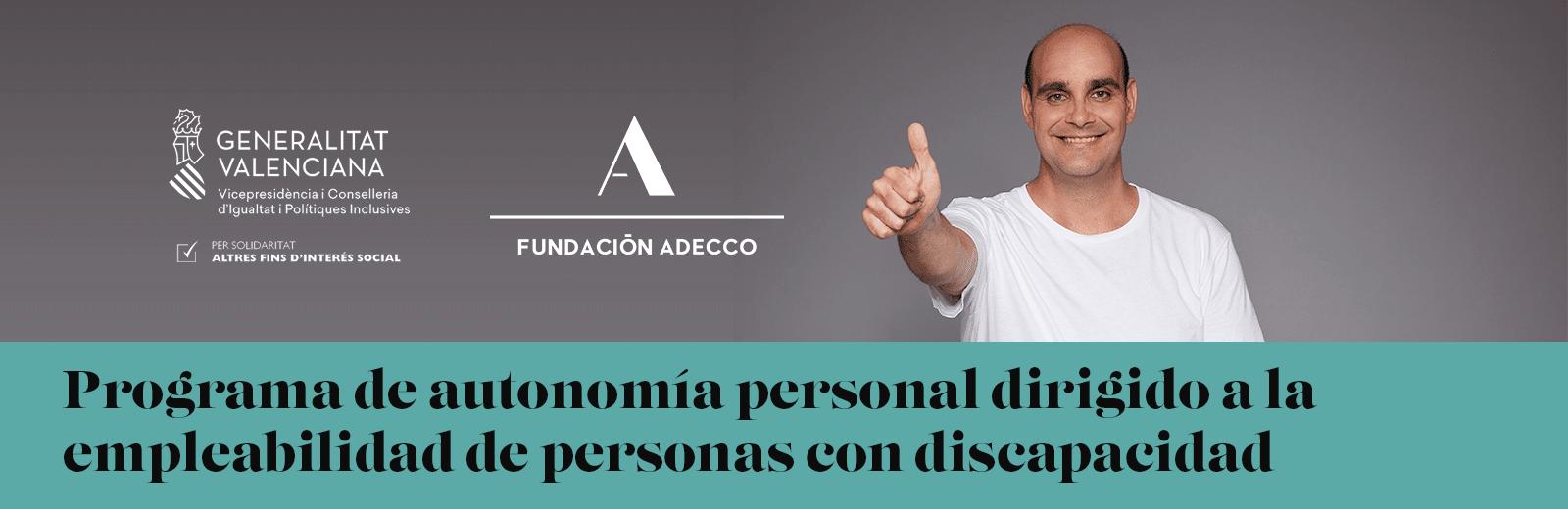 Programa de autonomía para fomentar la empleabilidad de personas con discapacidad