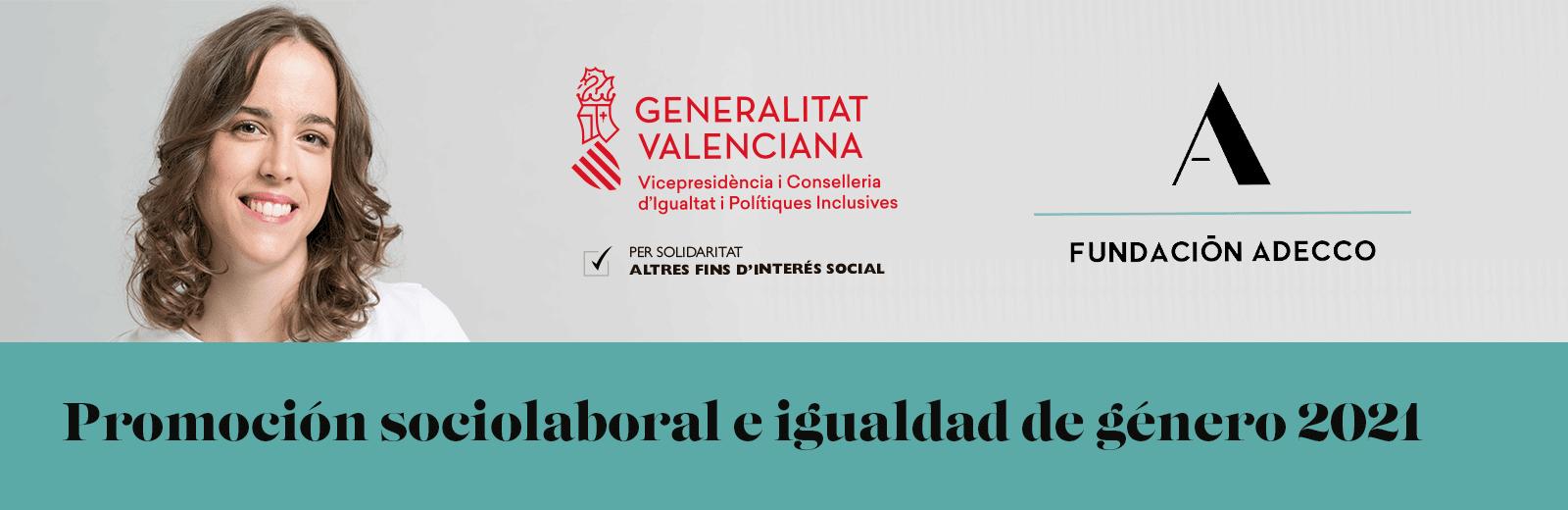 promoción sociolaboral e igualdad de género